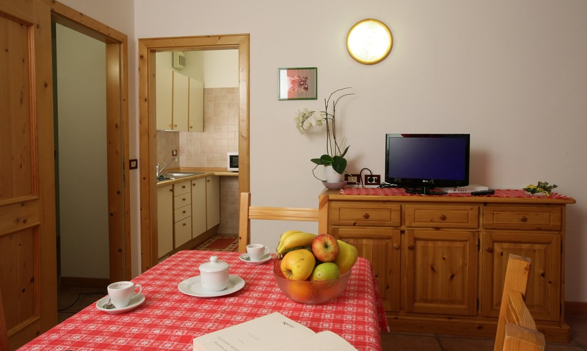 Two or three room apartments for your holiday in Molveno